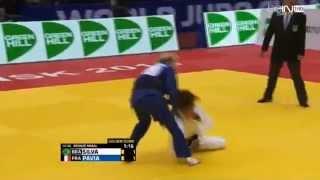 Judo : Automne Pavia vs Rafaela Silva (-57kg) - Championnats du monde 2014