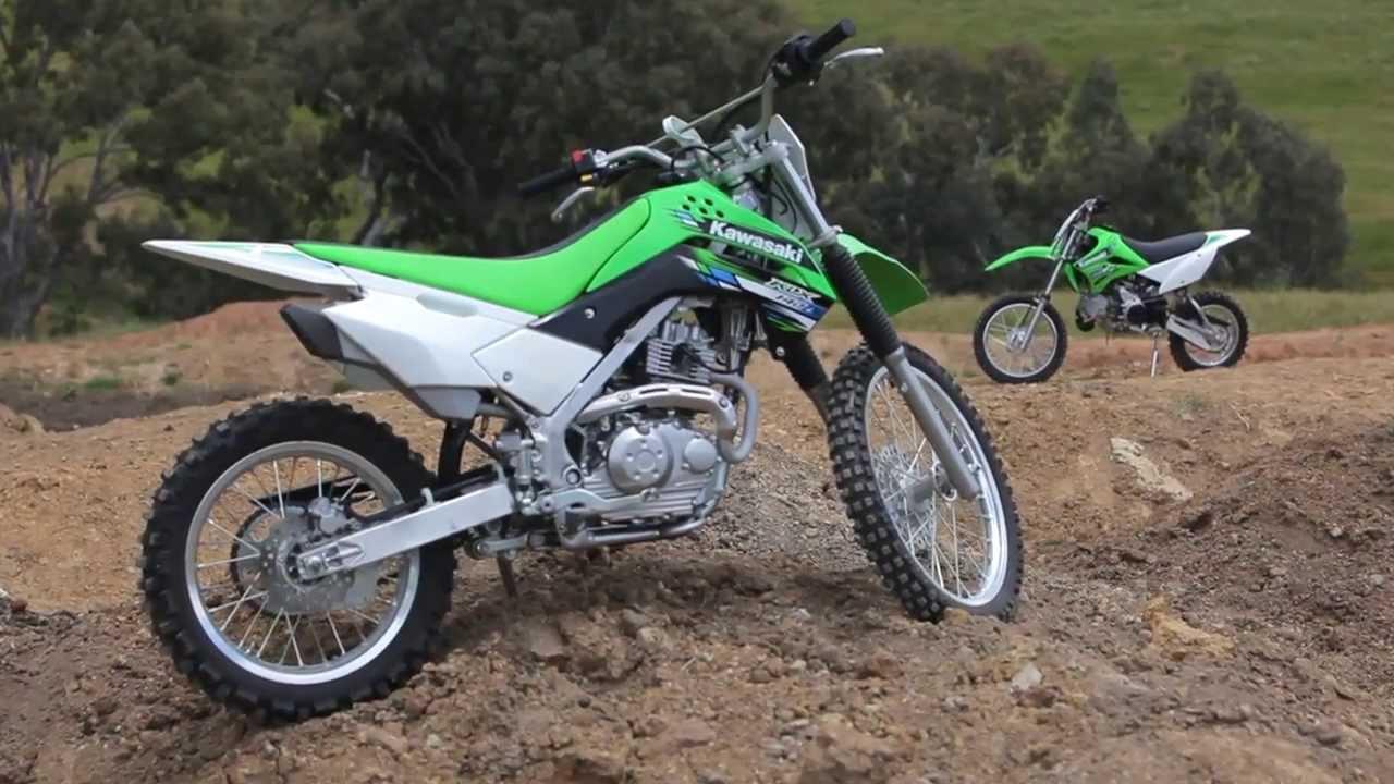 MXTV Bike Review - 2014 Kawasaki KLX140L - YouTube