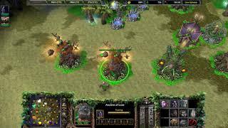 Warcraft III Reforged BETA   Recording 26   4v4   Night Elf