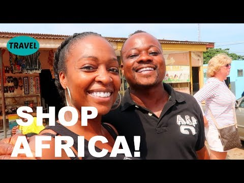 The African Arts Centre ~ How to Survive | Ghana Vlog Day 2