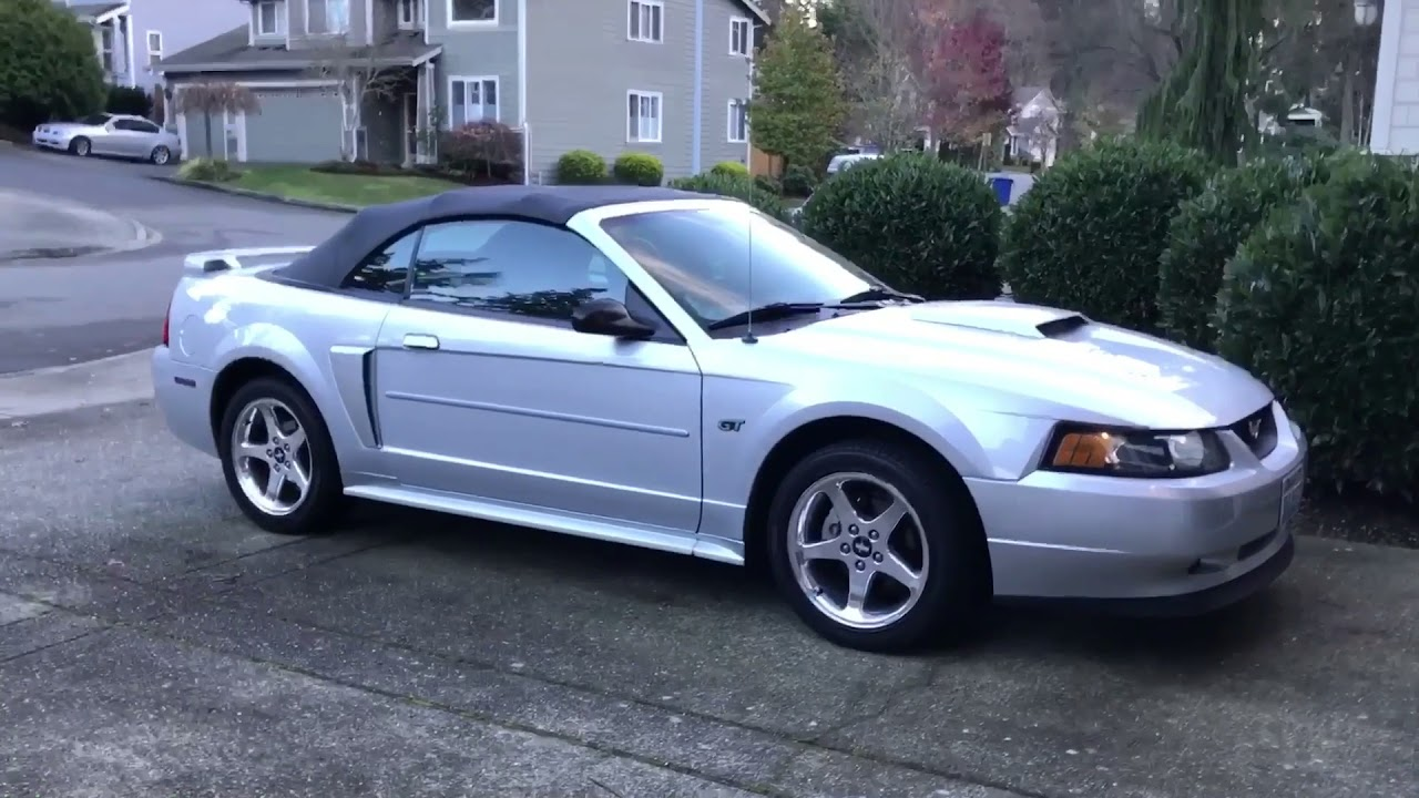 1999-2004 Mustang Convertible Water Leak Fix