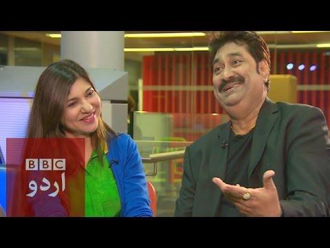Kumar Sanu and Alka Yagnik interviewBBC Urdu