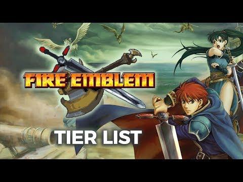 Fire Emblem 7 Tier List: Fire Emblem Character Sorter