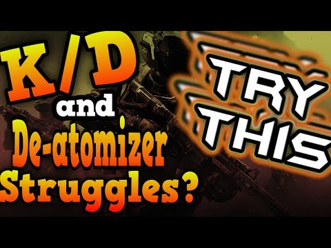 Improve your **K/D and Deatomizer** chances by playing less aggressive / Infinite Warfare Tutorial