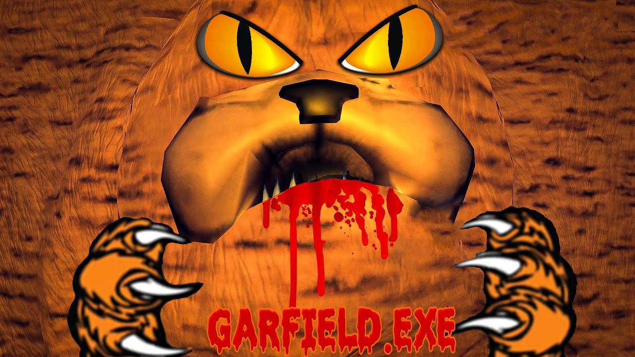 Garfield Exe Horror Game Scp 3166 Exe Horror Games Youtube