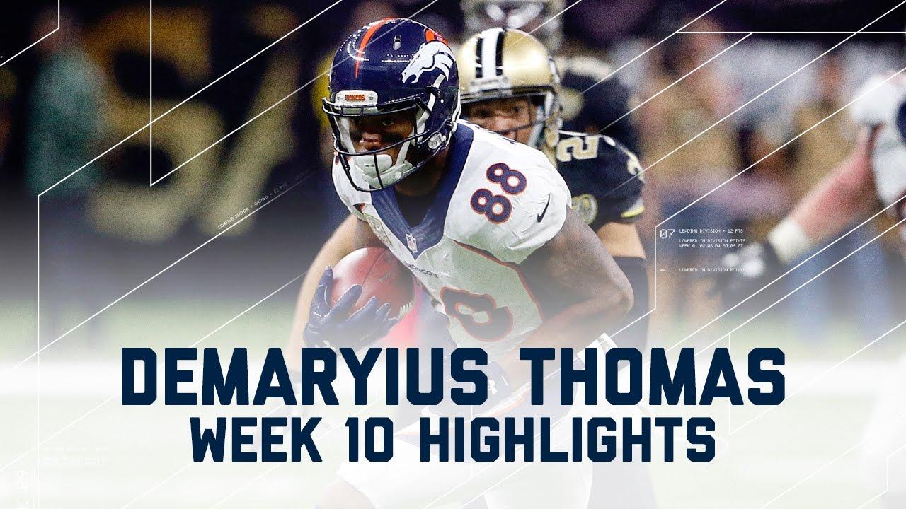 Demaryius Thomas Broncos Touchdown
