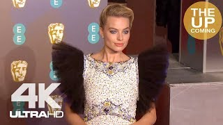 Margot Robbie at BAFTAs: Arrival, red carpet, photocall for Mary Queen of Scots