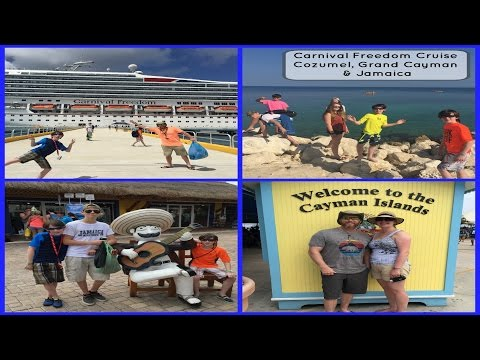 Carnival Freedom Caribbean Cruise to Cozumel, Grand Cayman & Jamaica