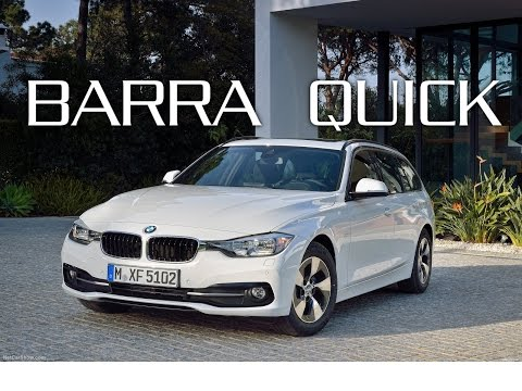 Barre Green Valley QUICK - BMW Serie 3 Touring