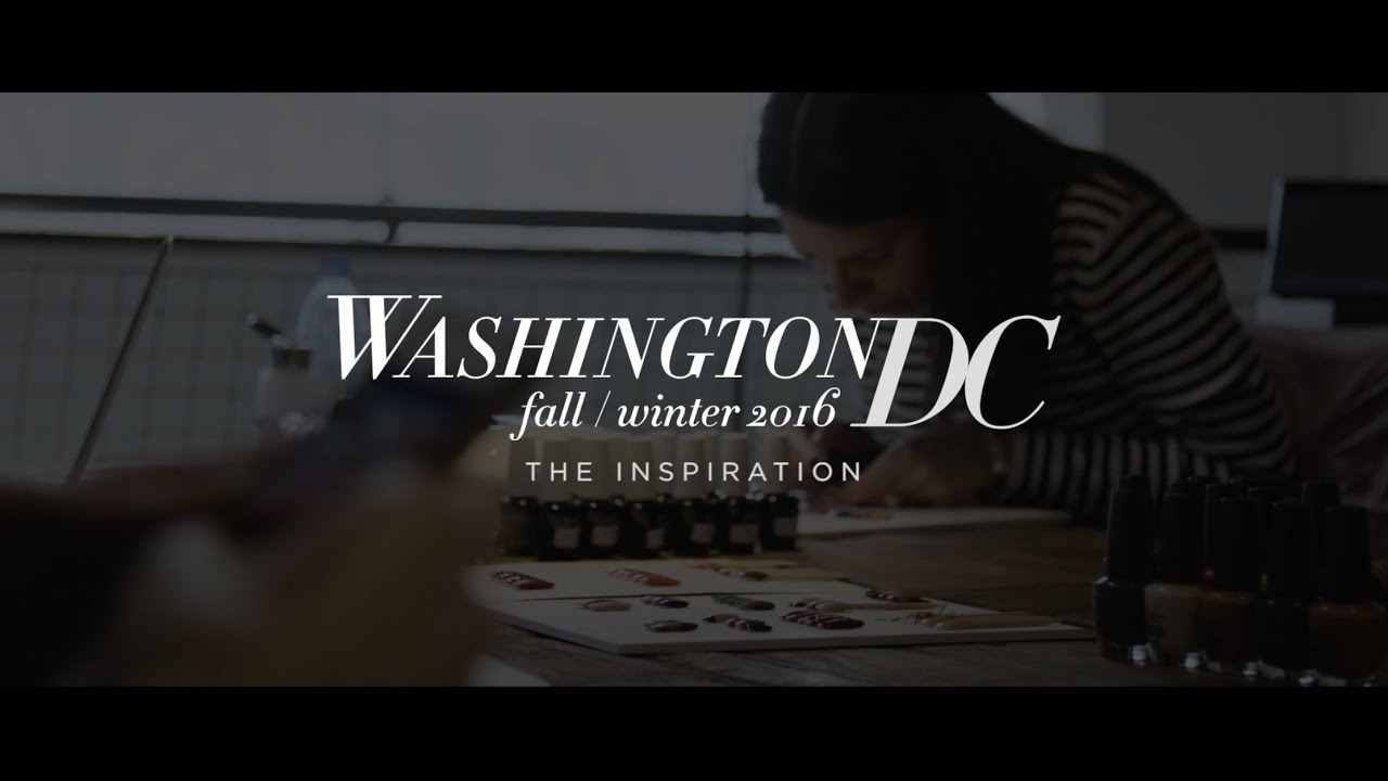 OPI Washington DC Nail Art | The Inspiration - YouTube