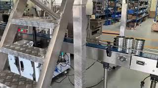 주석 깡통 충전 및 밀봉 기계, 주석 깡통 충전 및 기…