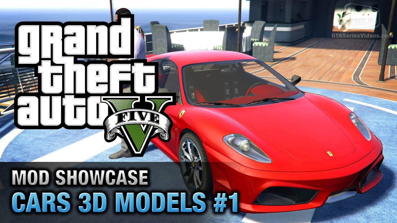 GTA 5 Car Mods #1   Ferrari F430, Lamborghini Aventador, Bugatti Police And  More   YouTube