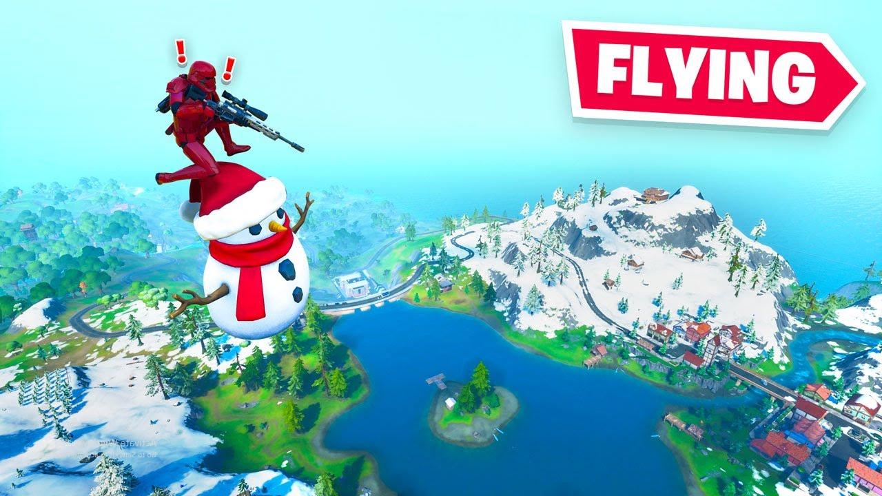 the Christmas update is BROKEN in Fortnite thumbnail