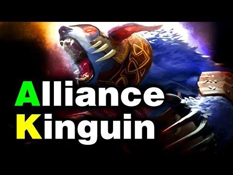 ALLIANCE vs KINGUIN - EU BATTLE - GESC THAILAND MINOR DOTA 2