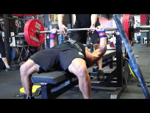 Volume Block II Bench PR's with Robbie