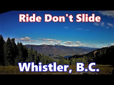 """Awesome long Downhill on """"Ride Don't Slide"""" in Whistler, B.C. FULL RAW"""