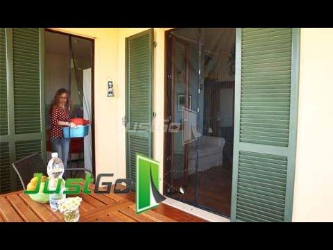 Montaggio con fermagli adesivi tenda zanzariera magnetica - Tende alle finestre ...