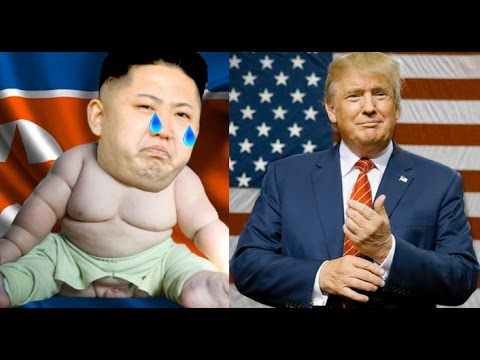 Thumbnail: FUNNY: Trump Makes Fat-Boy Kim Jong Un Cry RIKE RIT-TOO Girl - SPOOF