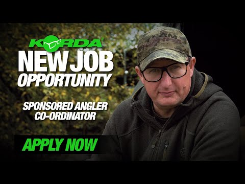 Work for Korda | New Job Role Available | Sponsored Angler Co-ordinator