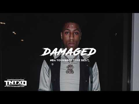 "(FREE) NBA Youngboy Type Beat   2019   "" Damaged ""   @TnTXD"