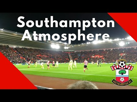 Atmosphere @ St Mary's Stadium Southampton Fc - Liverpool Fc 1-0