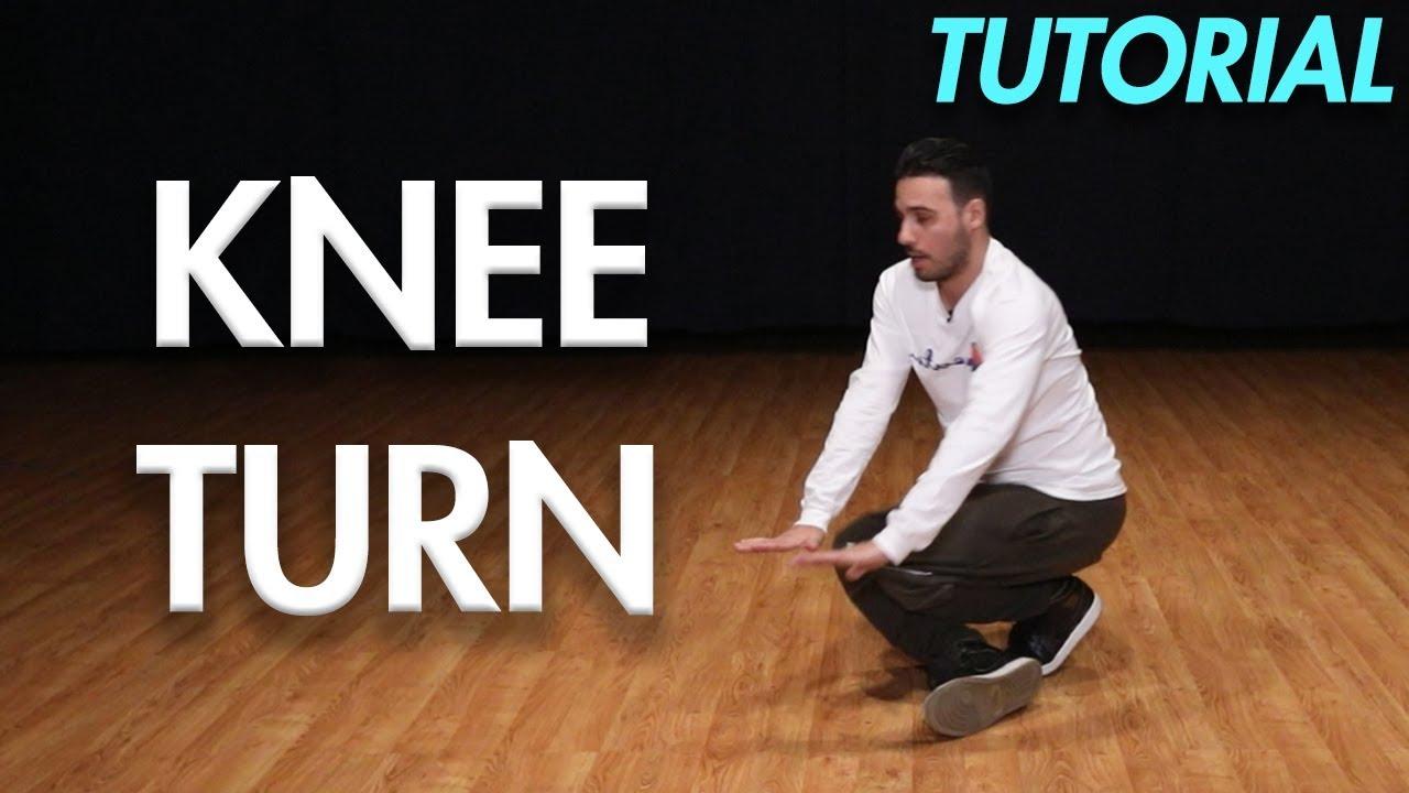 How to Knee Turn (Hip Hop Dance Moves Tutorial)   Mihran ...