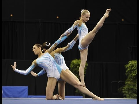 Acrobatic Worlds 2012, Orlando (USA) - Mixed Pair + Women's Group (Part 1)