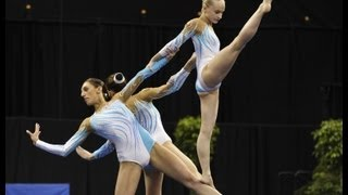 Acrobatic Worlds 2012, Orlando (USA) - Mixed Pair + Women's Group (Part 1) thumbnail