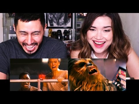Bad Lip Reading Star Wars THE FORCE AWAKENS | Reaction by Jaby & Achara