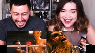 Bad Lip Reading Star Wars THE FORCE AWAKENS   Reaction by Jaby & Achara