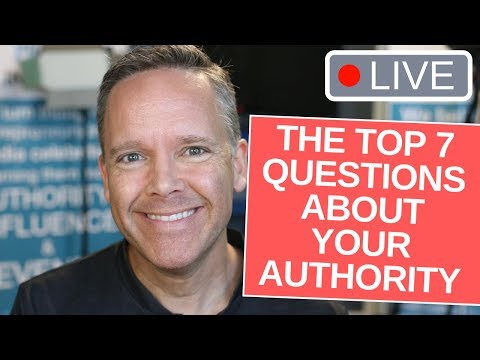 Top 7 Most Important Questions about Authority Marketing