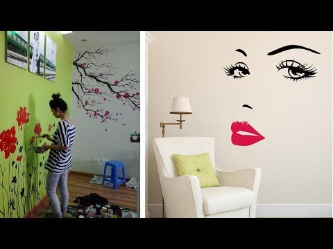 Beautiful Wall Painting Ideas For Home | Amazing Wall Art Decoratings