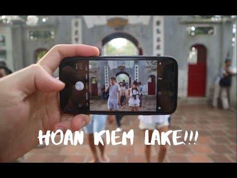 Walking Around Hoan Kiem Lake Hanoi