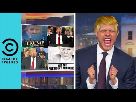 Trevor Is Slowly Turning Into Donald Trump | The Daily Show With Trevor Noah thumbnail