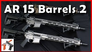 AR 15 Barrels - Part 2: Muzzle devices, Round Lethality / Range, Barrel Material, & Chambers!