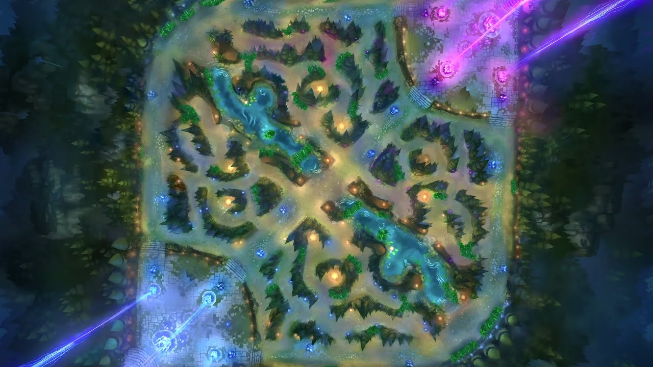 League Of Legends Map 5v5