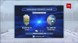 Karpaty Lviv vs Olimpik Donetsk full match