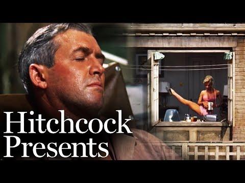 The Opening Scene - 'Rear Window'   Hitchcock Presents