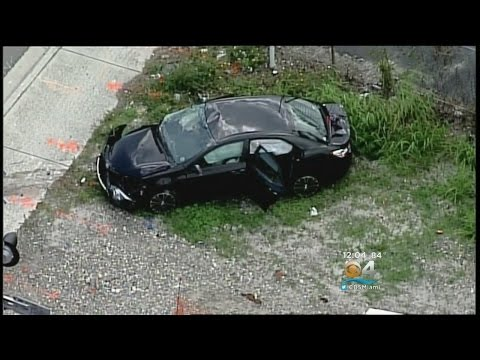 One Dead After Car Collides With Train In Pompano Beach