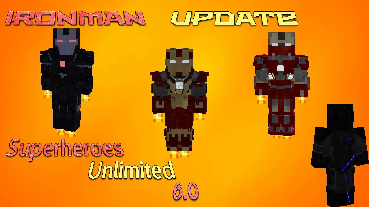 Sum 6 0 IronMan Update (Minecraft Legends Mod)Part 8 YouTube