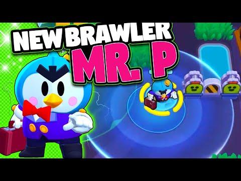 NEW BRAWLER MR. P   New Game Mode HOT ZONE, Skins And More   Brawl Stars Update
