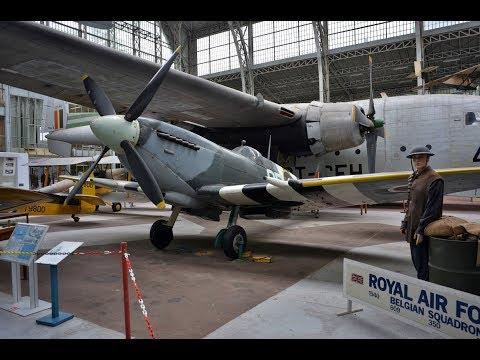 BRUSSELS 2017 ROYAL ARMY MUSEUM - KON. LEGERMUSEUM - LUCHTVAART (part 2)