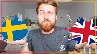 SWEDEN vs UK: Which is Better?!