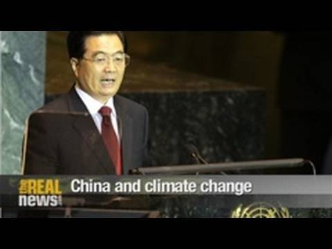 China and climate change