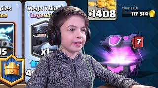 MAGICAL CHEST - MEGA KNIGHT - Clash Royale
