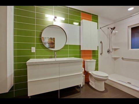 Комната в зеленом цвете фото