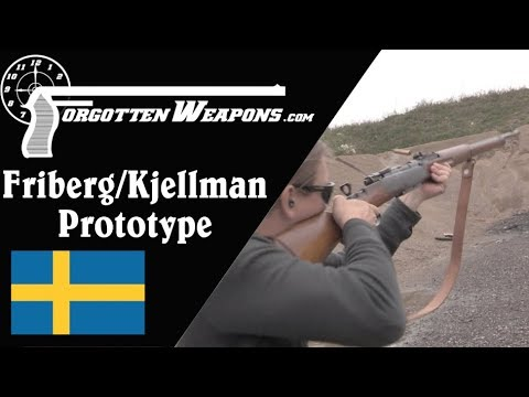 Prototype Friberg/Kjellman Flapper-Locking Semiauto Rifle