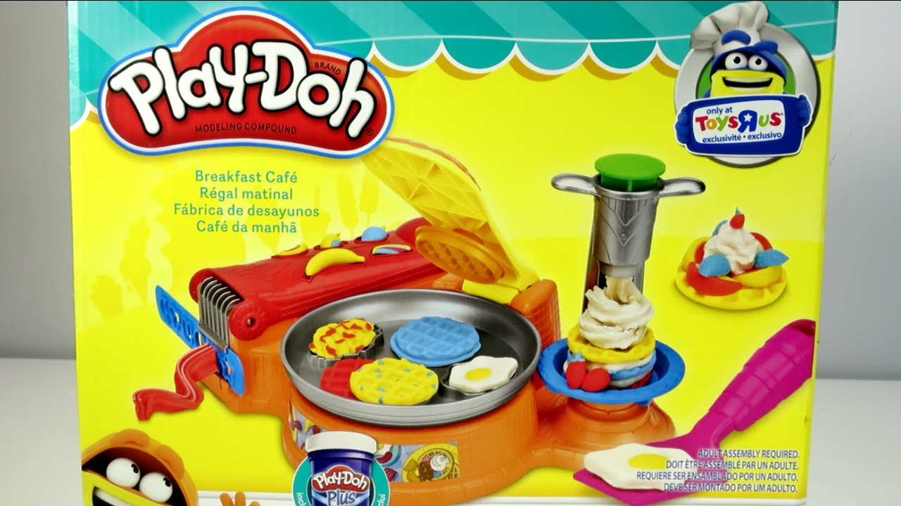 play doh breakfast cafe youtube. Black Bedroom Furniture Sets. Home Design Ideas
