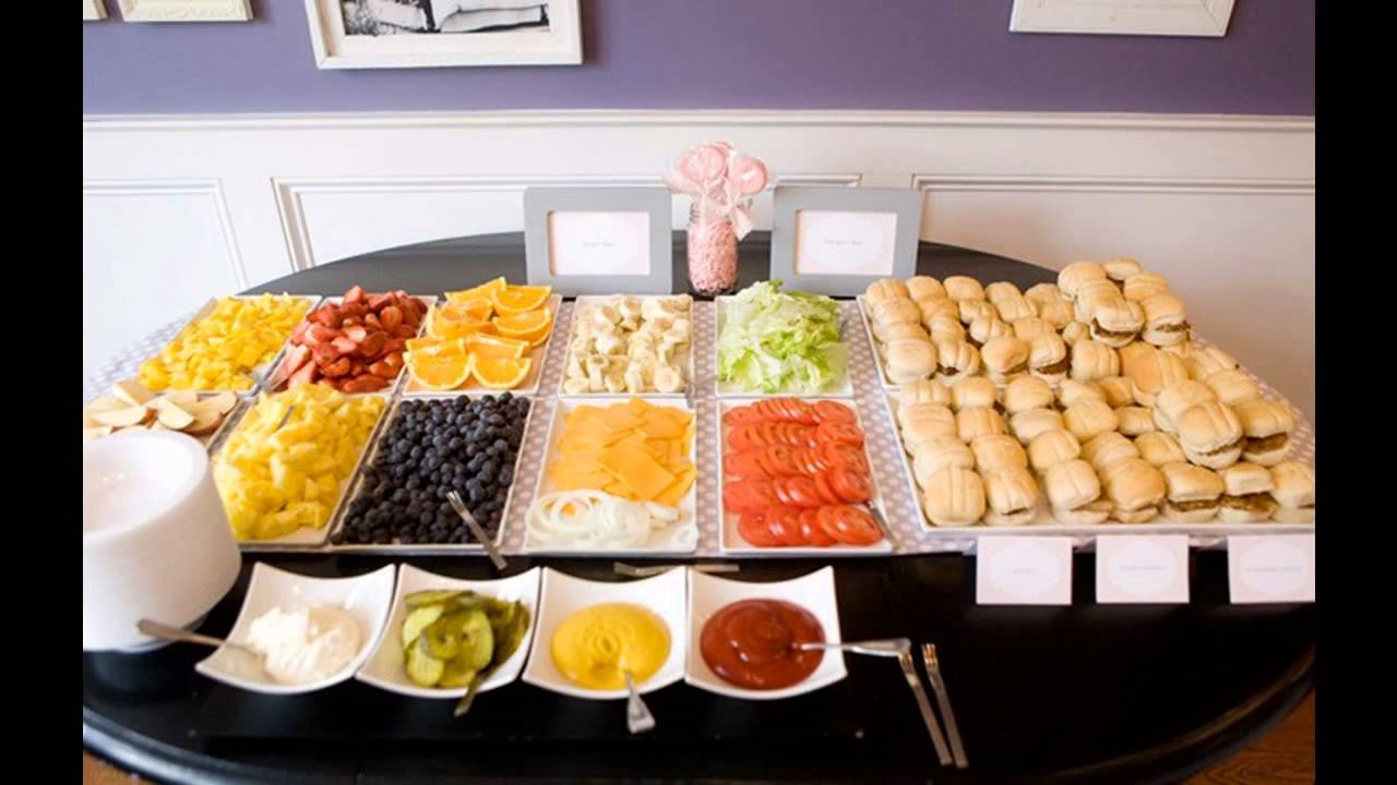Dinner Buffet Ideas For A Party Part - 21: Awesome Graduation Party Food Ideas - YouTube