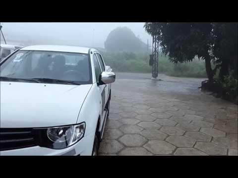 Rain in Freetown Sierra Leone
